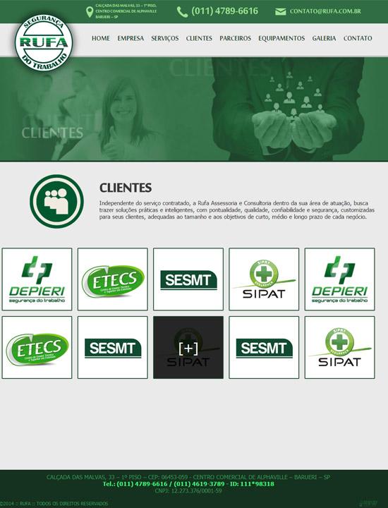 Cliente - RUFA - R2W Agência Web