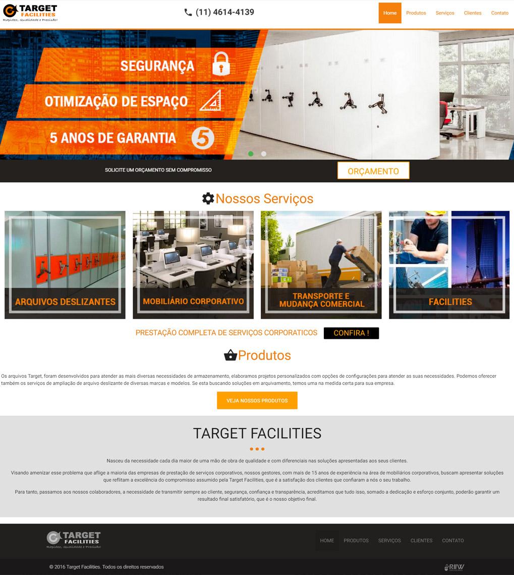 Cliente - Target - Mobiliário Corporativo - R2W Agência Web
